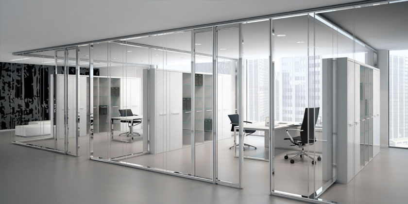 Aluminyum Ofis İçi Bölme Sistemleri